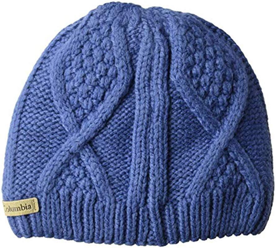 23c655df6ed Lyst - Columbia Cable Cutie Beanie in Blue for Men - Save 50%