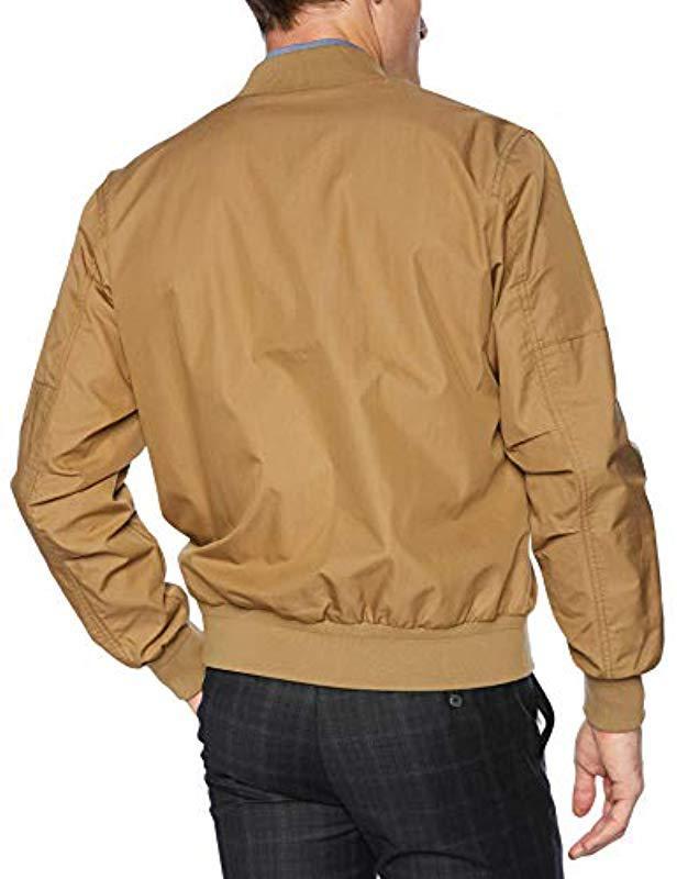d3c25a2e5236 Lyst - Lacoste Cotton nylon Bomber Jacket