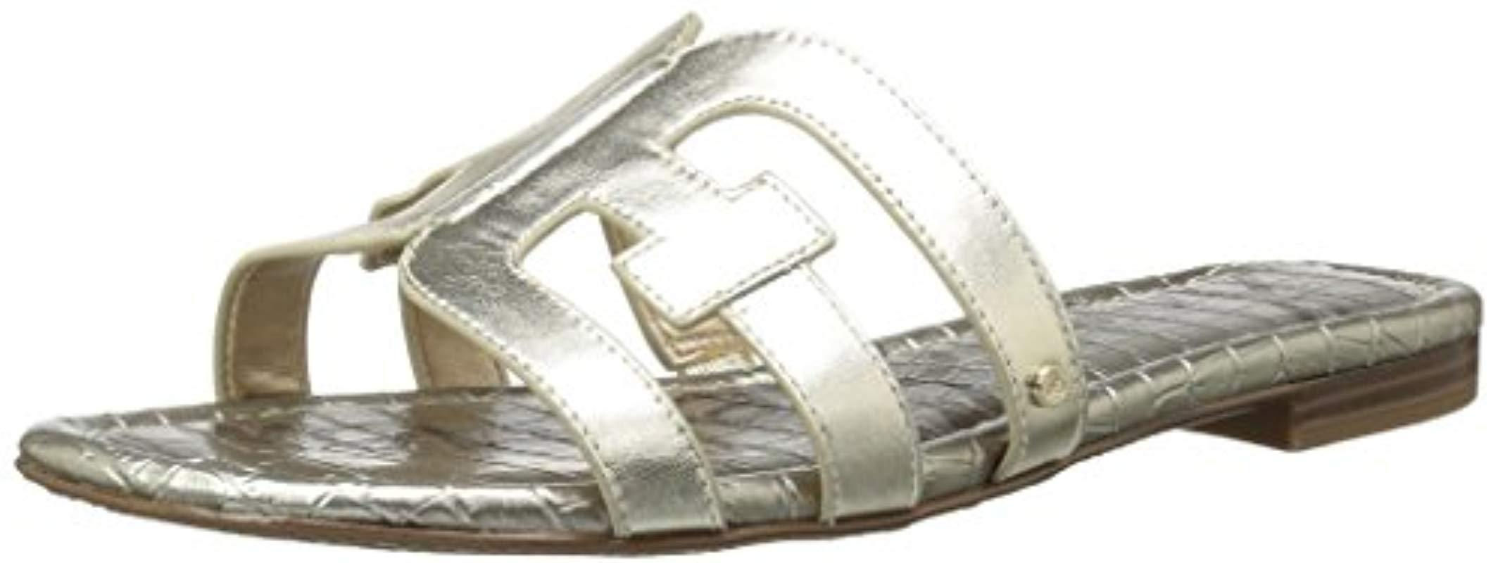 84894dfcf77 Lyst - Sam Edelman Bay Slide Sandal - Save 38%