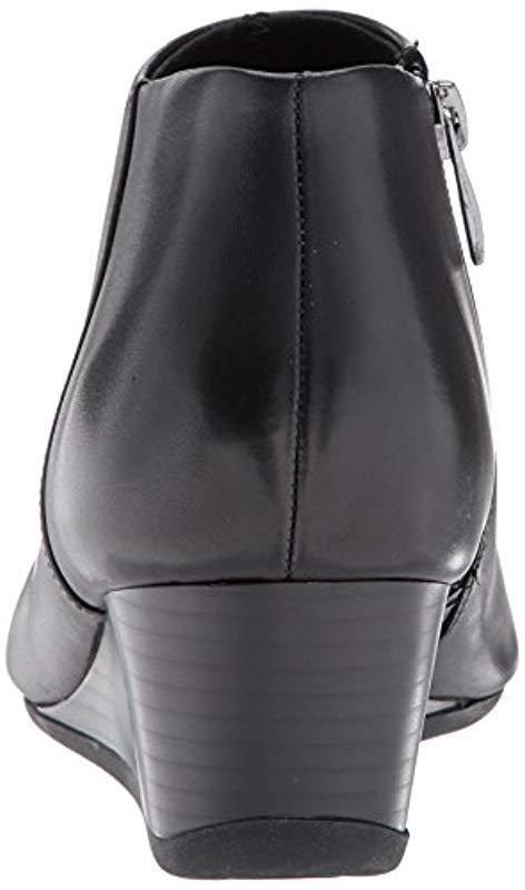 d9d6d13c265 Easy Spirit - Black Leinee Ankle Bootie - Lyst. View fullscreen