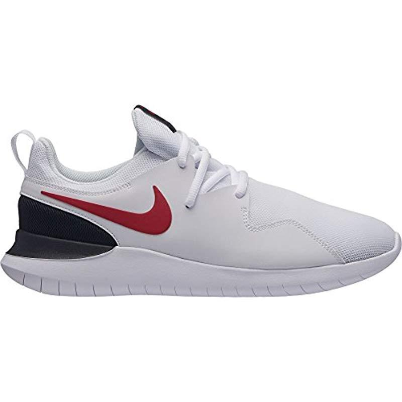 b0c8049af042 Lyst - Nike Tessen Running Shoe in White for Men
