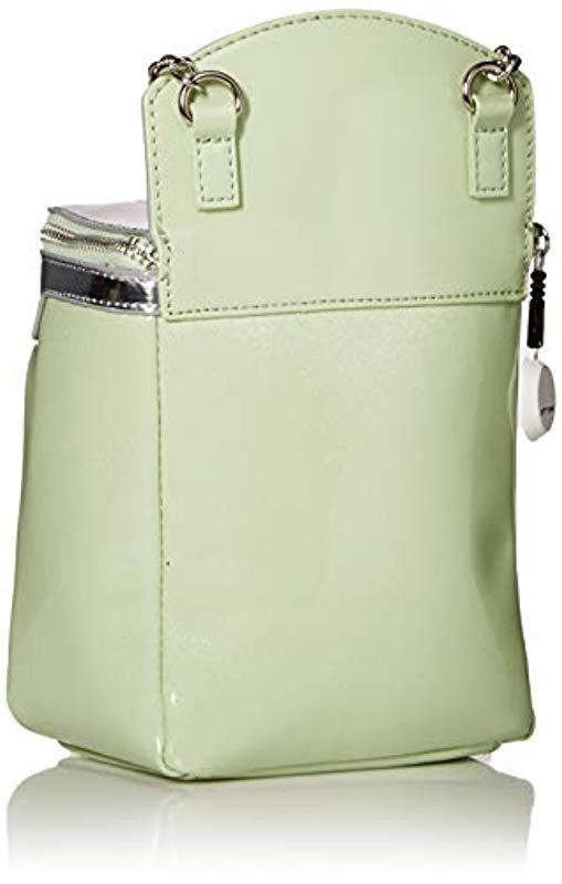 cbf5218b7904 Lyst - Betsey Johnson Oven Crossbody Bag in Green