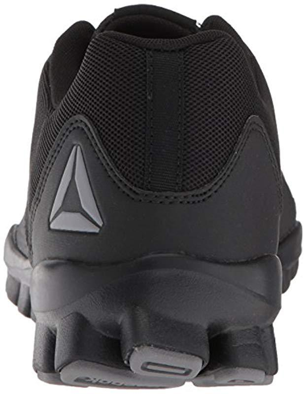 Lyst - Reebok Realflex Train 5.0 Cross Trainer in Black for Men - Save 35% 8af7098ed