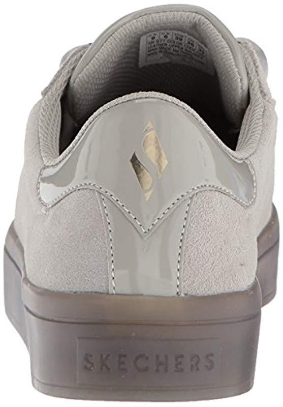 66bf25167570 Skechers - Gray Hi-lite-suede Satin Sneaker - Lyst. View fullscreen
