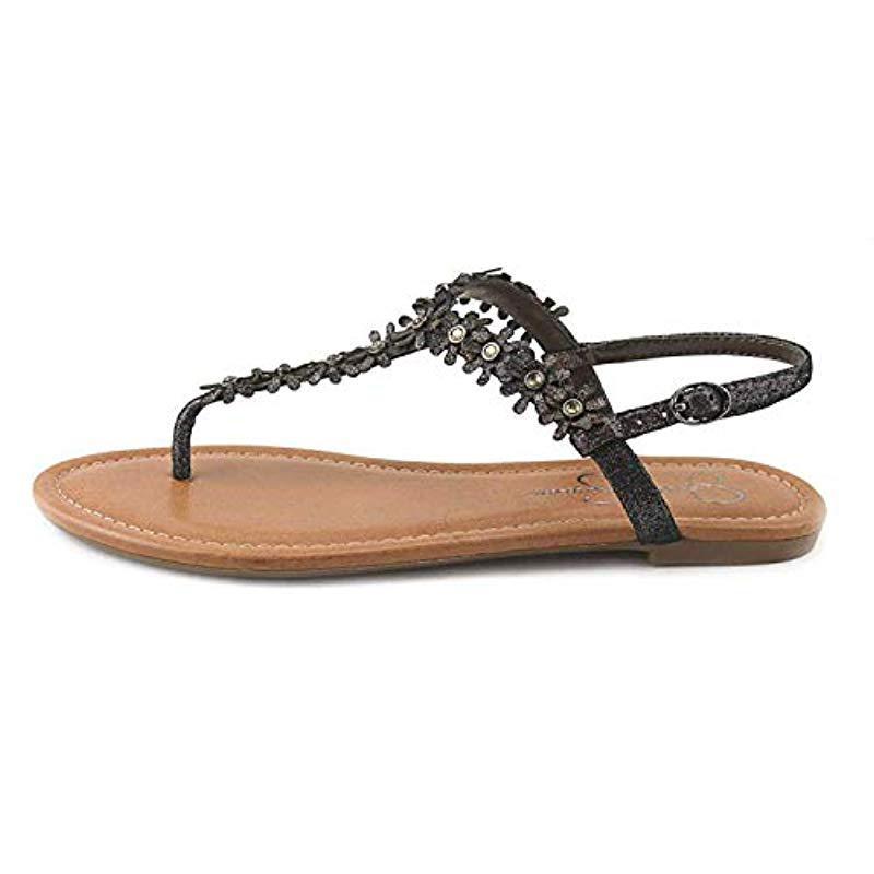8ea6af1fc32622 Lyst - Jessica Simpson Riel Dress Sandal