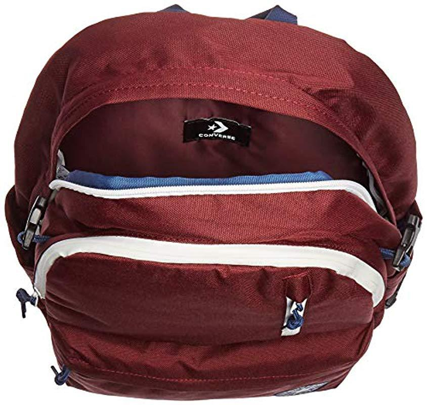 Lyst - Converse Straight Edge Backpack Backpack in Red for Men b0a5e7f801edb