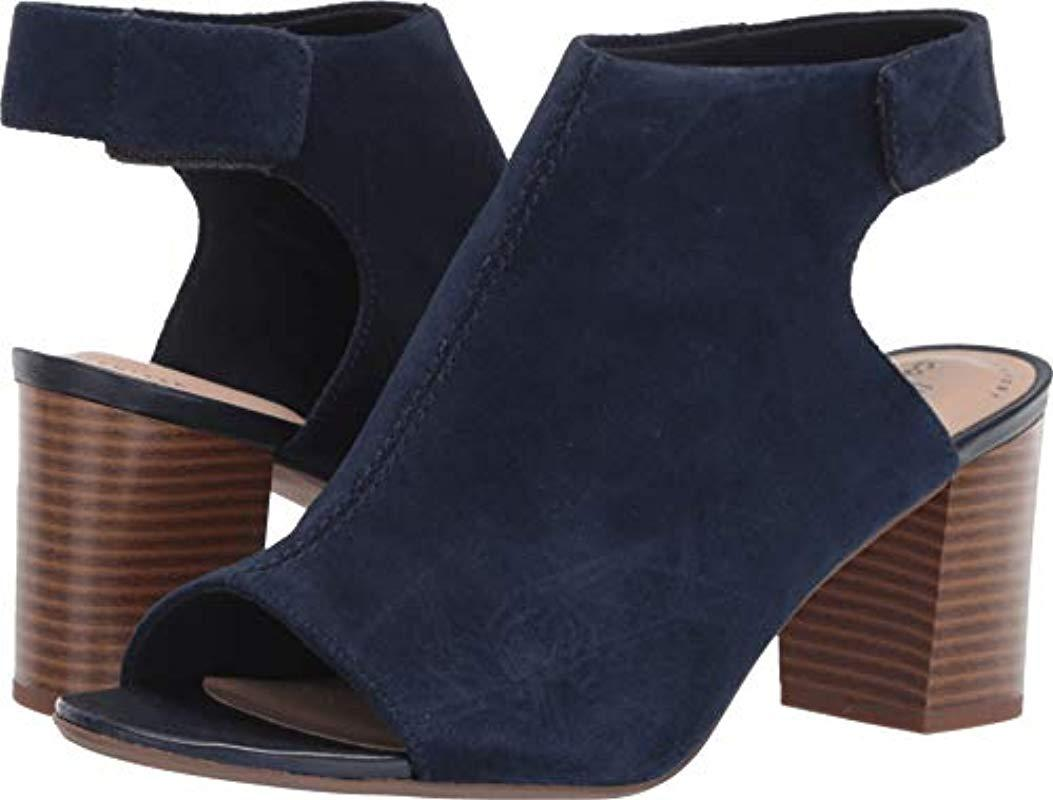 7f2eb4d4e9 Clarks Deva Bell Heeled Sandal in Blue - Save 41% - Lyst