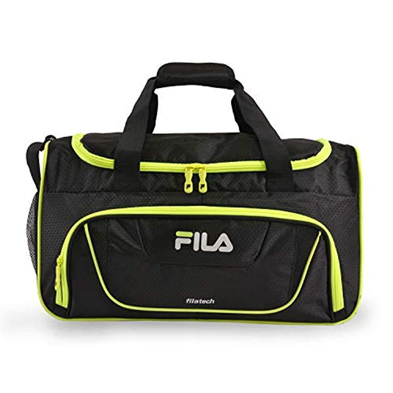 Lyst - Fila Ace 2 Small Duffel Gym Sports Bag Gym Bag - Save 35% 53055f80b5b3b
