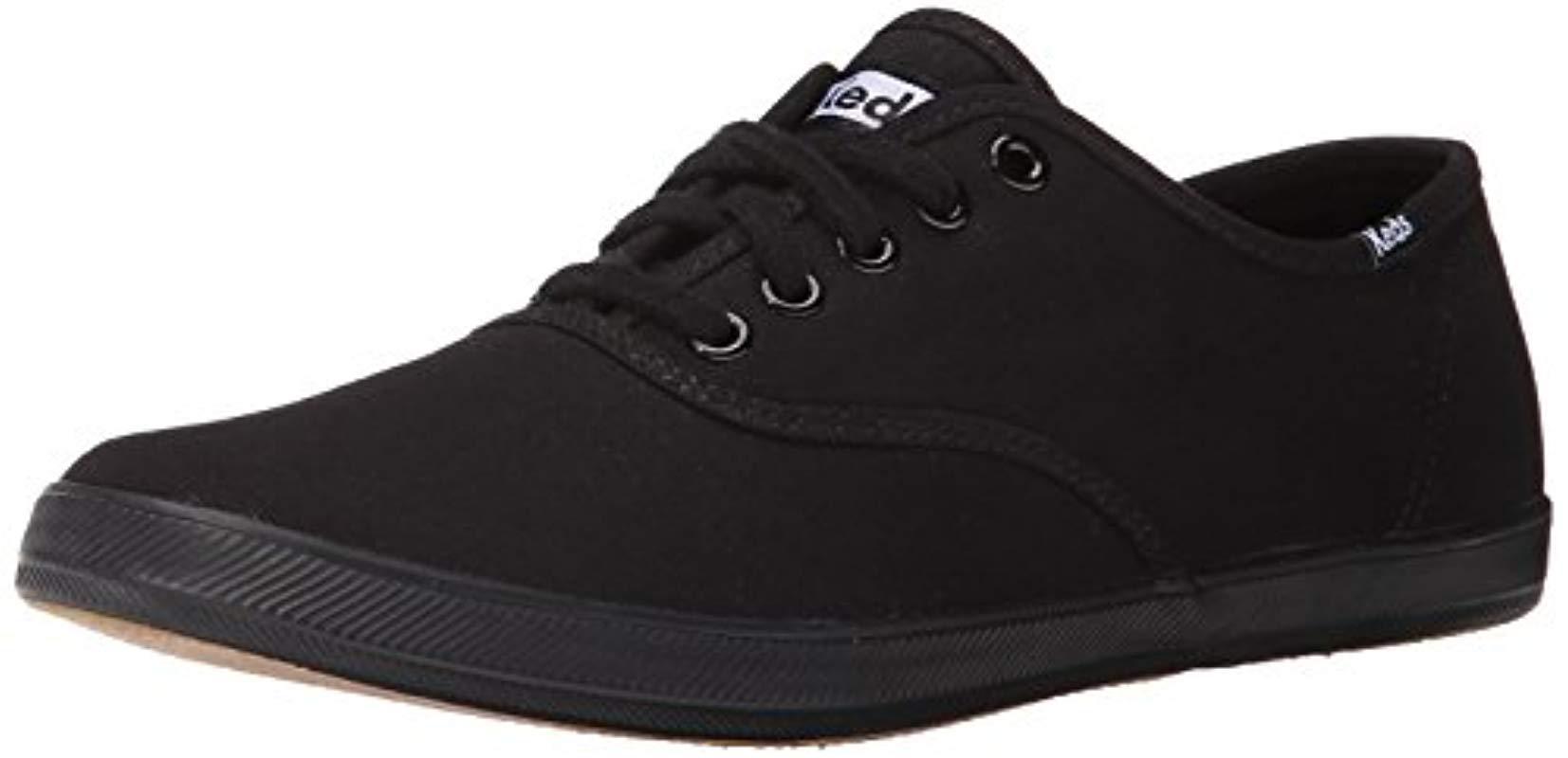 6ecc94efe24 Lyst - Keds Champion Original Canvas Sneaker in Black for Men