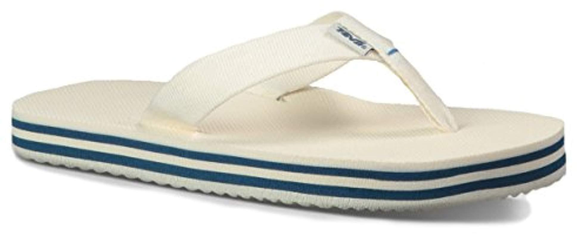 262dac5c2ba7 Teva. Women s White Deckers Flip-flop.  22 From Amazon Prime