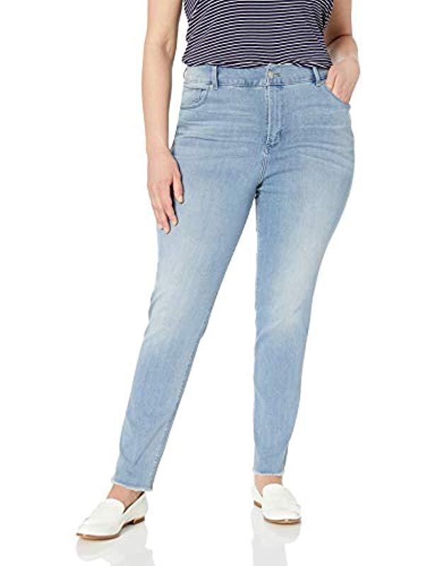 5b9c1a6c6c3 Lyst - Lee Jeans Plus-size Sculpting Slim Fit Skinny Leg Jean in Blue