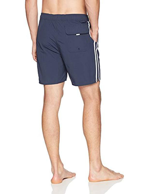 c7fd9480f7 Brixton Santos Trunk (navy/white) Swimwear in Blue for Men - Save 29% - Lyst