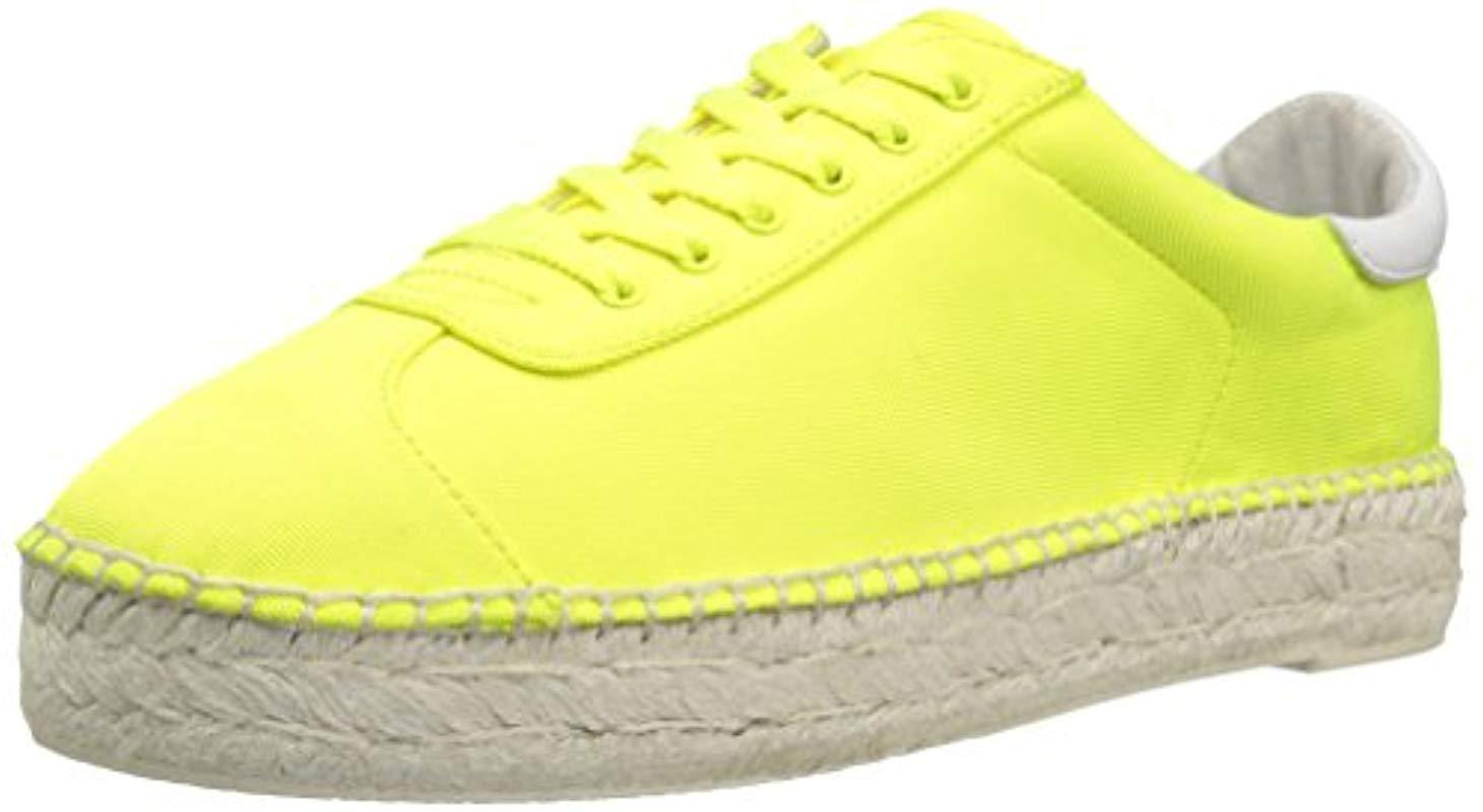 Lyst Lyst Lyst Kendall + Kylie James Sneaker in Yellow Save 70.40816326530611% 552713