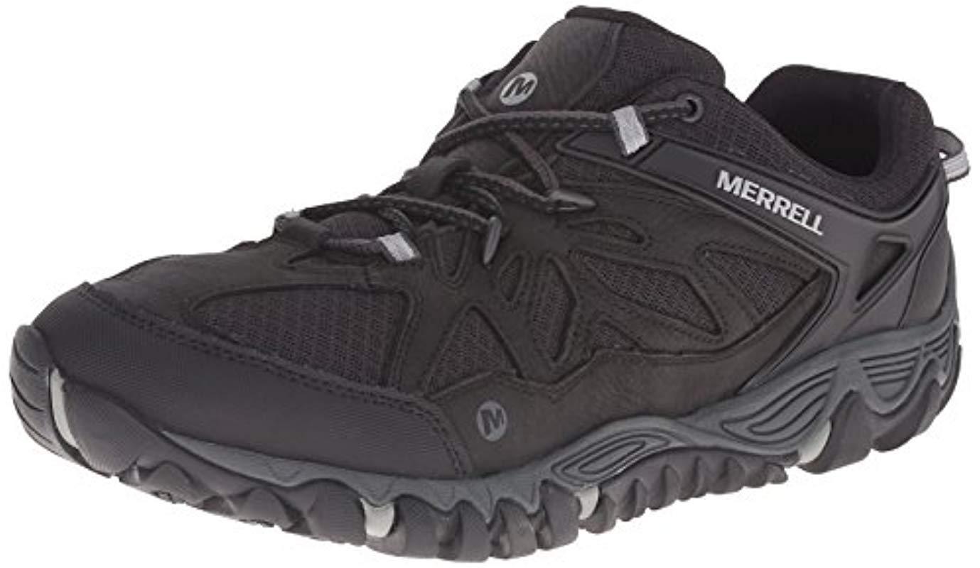 0589e21d1e0ca8 Merrell - Black All Out Blaze Vent Hiking Shoe for Men - Lyst. View  fullscreen