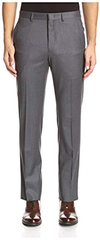 Mid-Grey Flannel Trousers