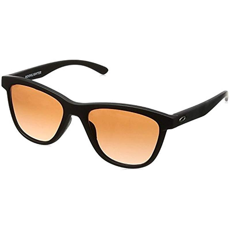 8d01b74f31 Lyst - Oakley S Moonlighter Sunglasses (oo9320) Plastic in Black ...