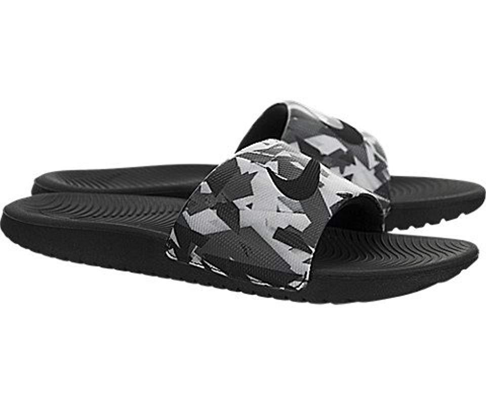 48c558e45d3aee Nike - Gray Kawa Slide Athletic Sandal for Men - Lyst. View fullscreen