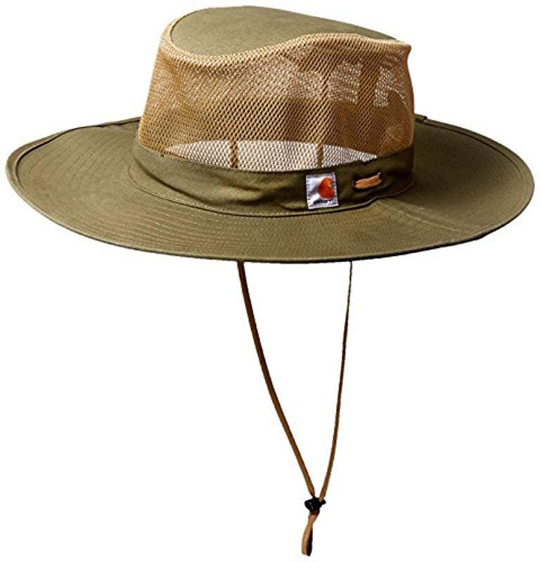 67d7c8ae54510 Lyst - Carhartt Odessa Sun Hat in Green