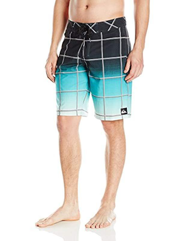 c784ef79dc Lyst - Quiksilver Everyday Electric Vee 21 Boardshort in Blue for Men