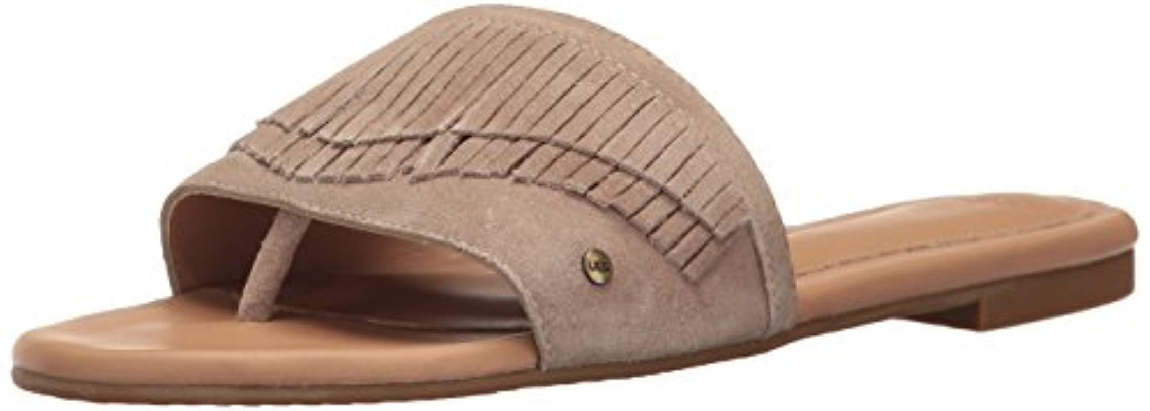 f50936de9610 Lyst - UGG Binx Flat Sandal - Save 1%