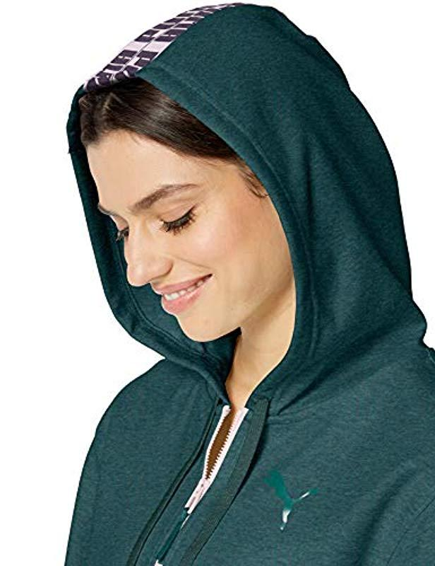 ce83747f65b0 Lyst - PUMA Feel It Cover Up in Green
