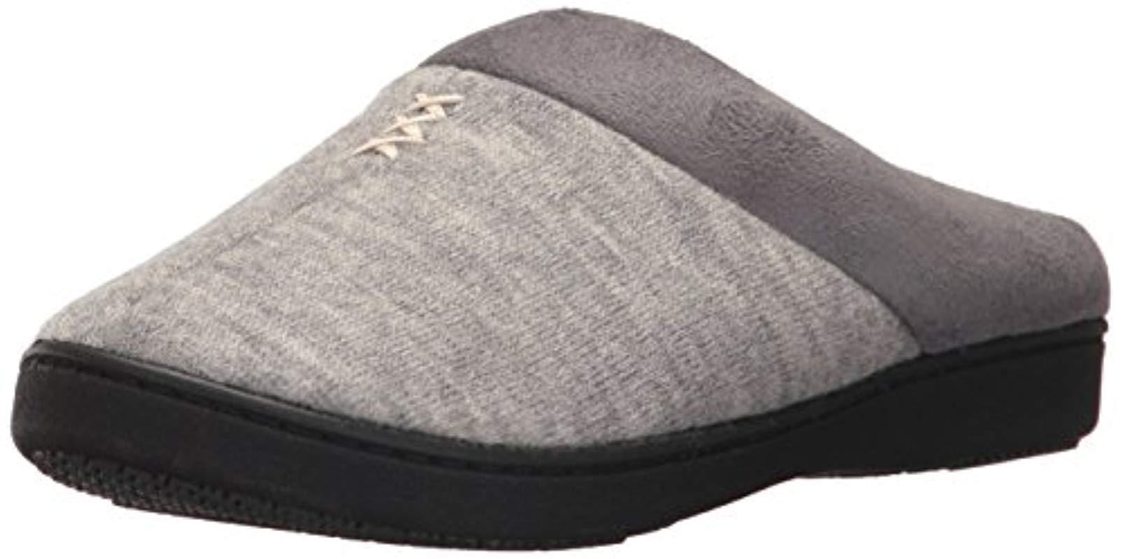 a942e9872 Lyst - Isotoner Marisol Slip On Cushioned Slipper With All Around ...