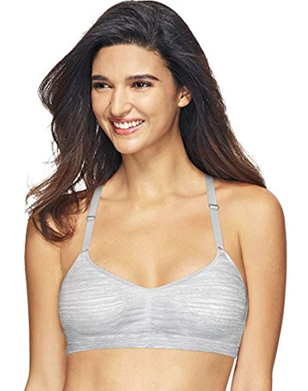 6a722d6462 Lyst - Hanes Comfortflex Fit T-shirt Soft Wirefree Pullover Bra in ...