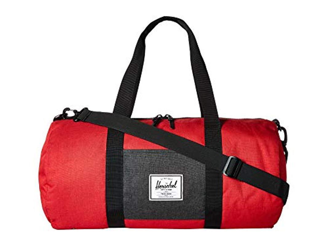 5603033c6896 Lyst - Herschel Supply Co. Sutton Mid Volume Duffle Bag in Red for Men
