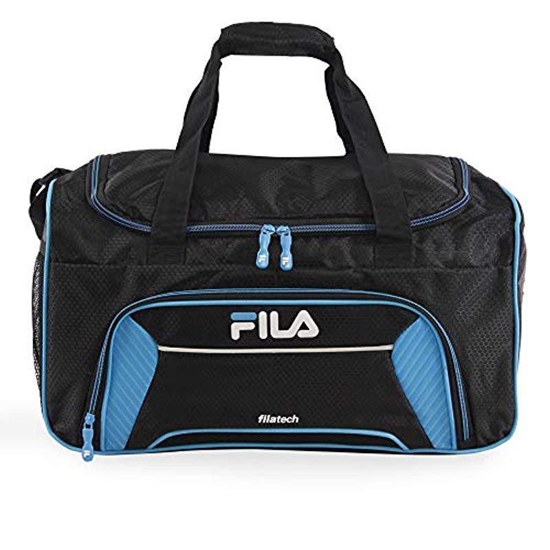 19633648904 Fila Orson Small Sports Duffel Bag Duffel Bag in Black for Men ...