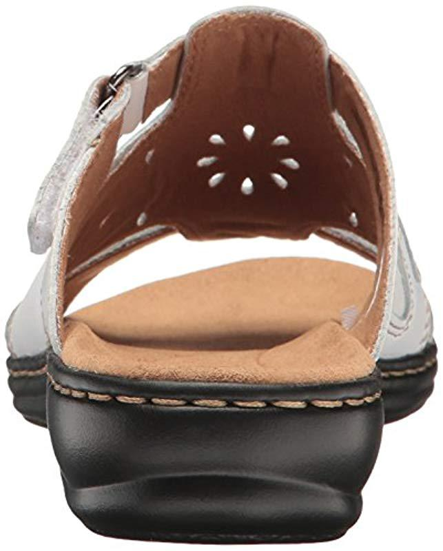 849ccbcd0 Lyst - Clarks Leisa Higley Slide Sandal