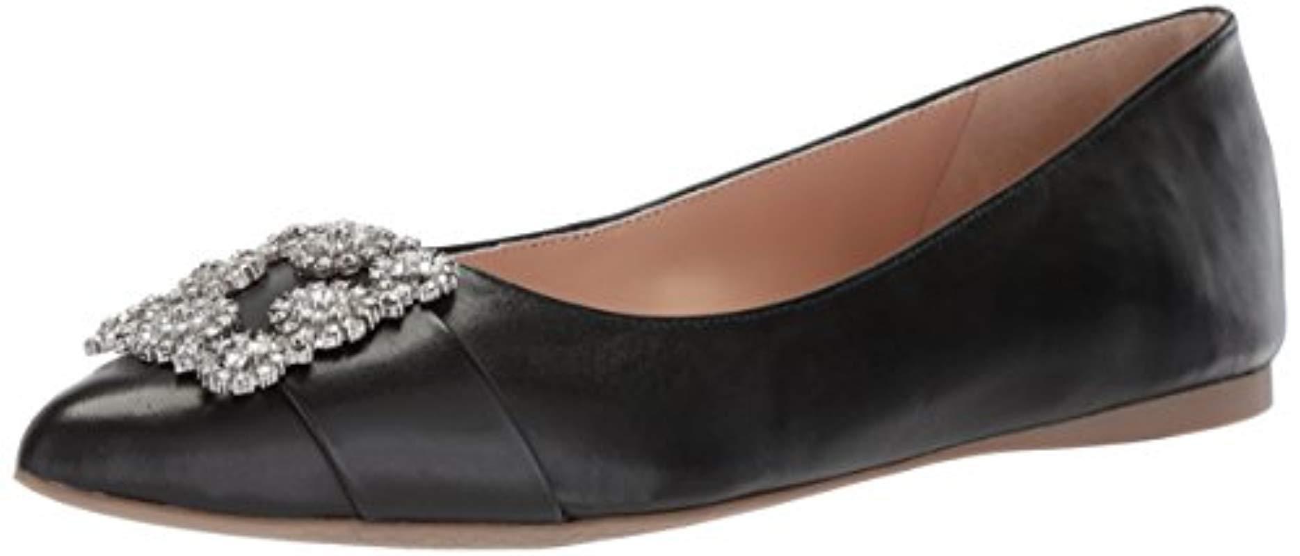 34dd1fdac8f1 Lyst - Tahari Ta-evalee Ballet Flat in Black - Save 50.0%