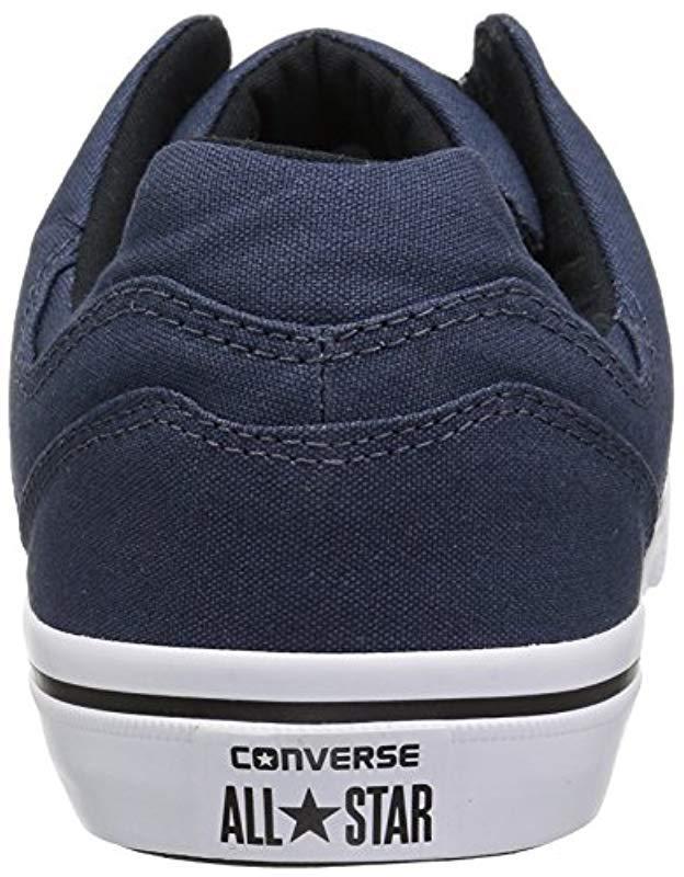 Lyst - Converse El Distrito Canvas Low Top Sneaker in Blue for Men - Save 2% f543b4d31