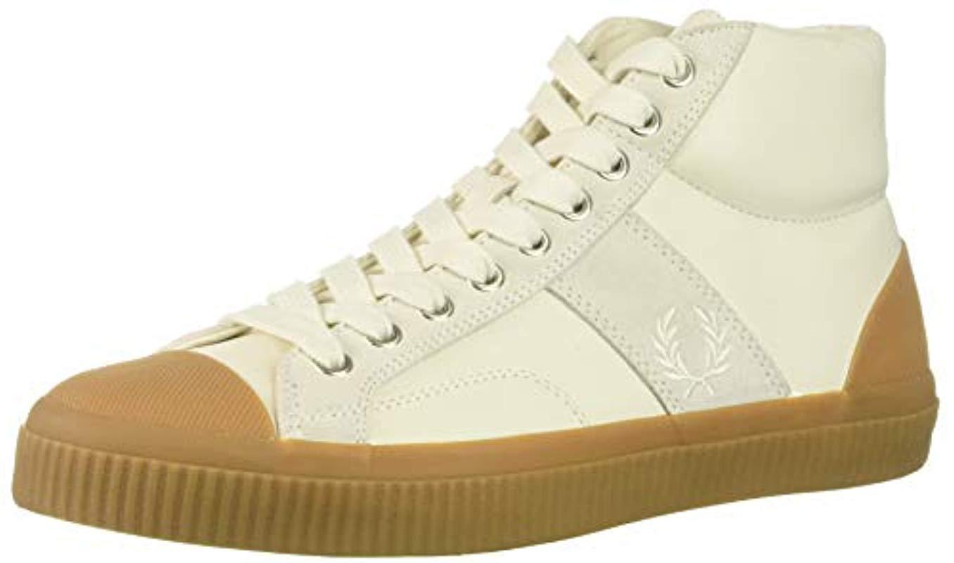 Lyst FROT Perry Hughes Mid Sneaker Leder Sneaker Mid in Natural for Men 7b643d