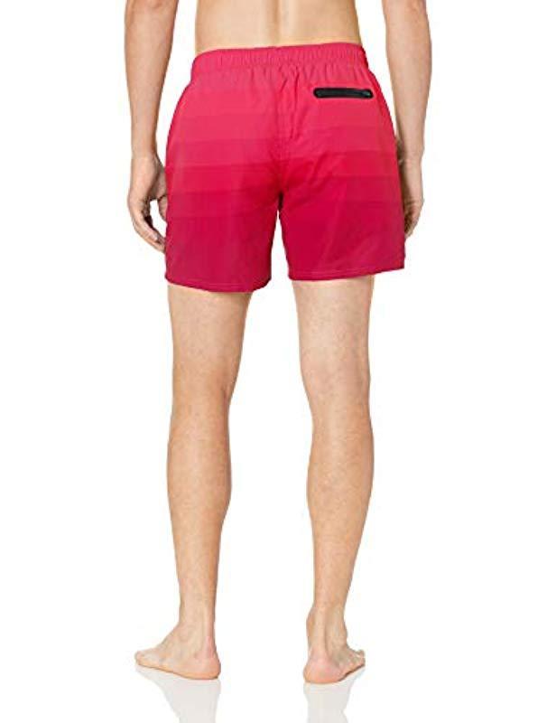 bc737fe84 Lyst - BOSS Medium Length Quick Dry Swim Trunks in Pink for Men