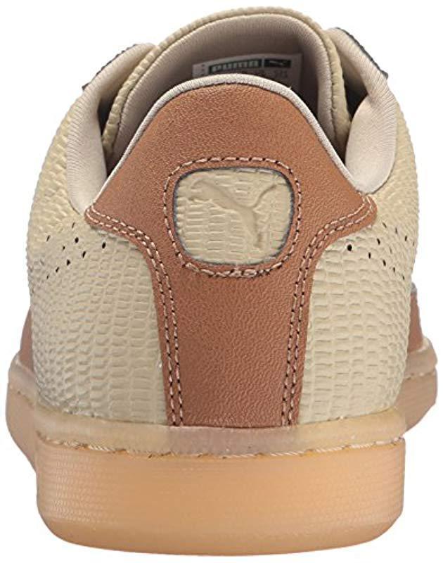 2eca5d69e298 Lyst - Puma Match Emboss Lthr Fashion Sneaker in Natural for Men