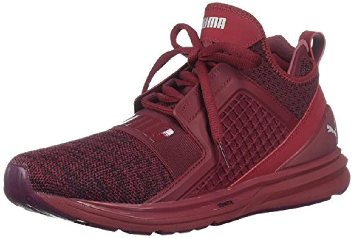 566dd0aae34 Lyst - PUMA Ignite Limitless Knit Sneaker in Red for Men - Save 39%