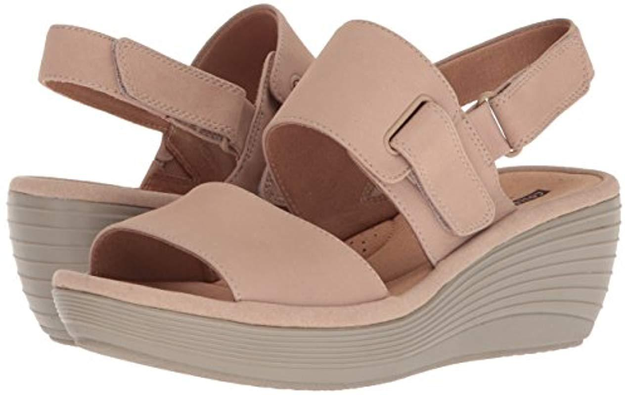 6714afed51b7 Lyst - Clarks Reedly Breen Wedge Sandal - Save 35%