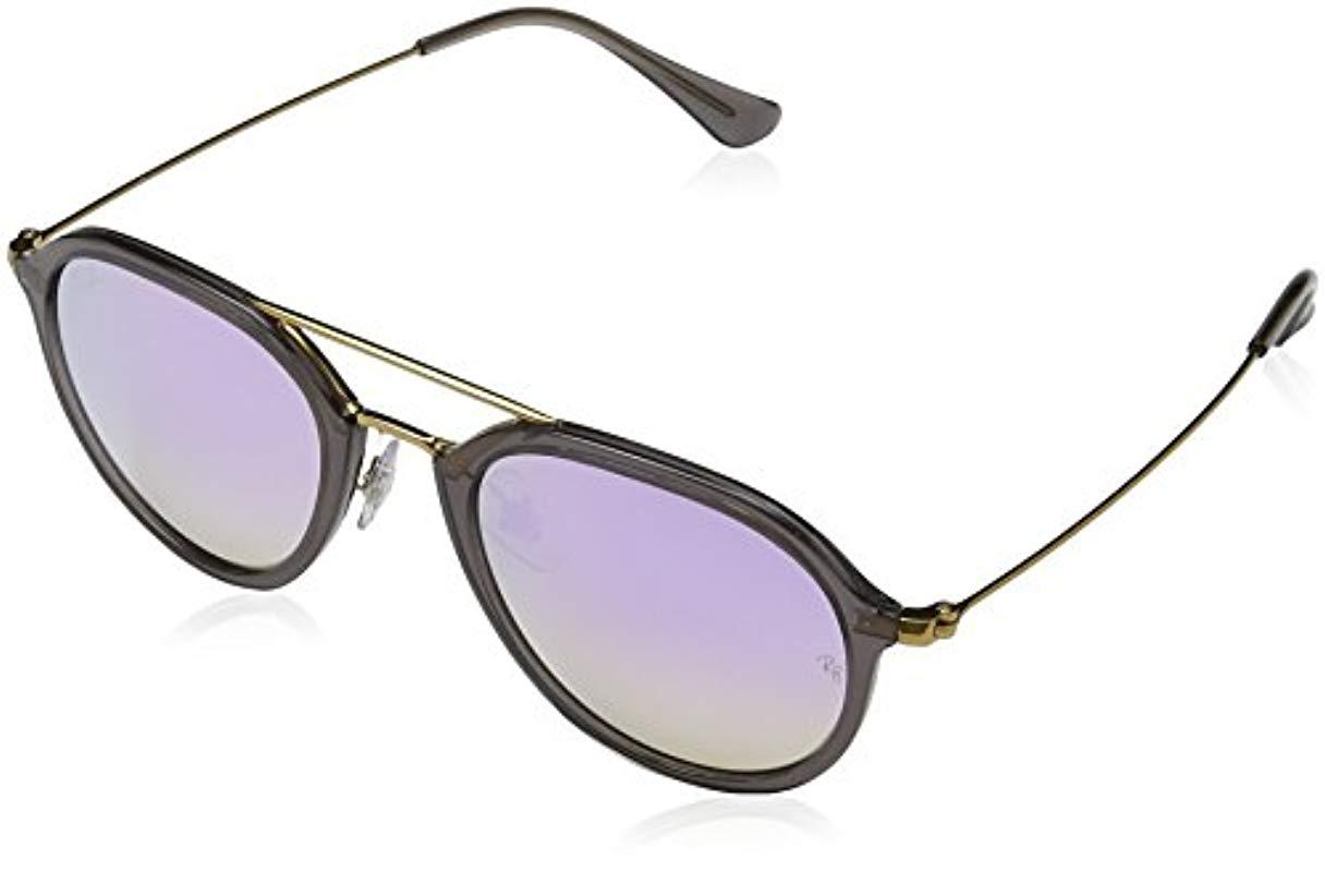 f33b6fac83 Lyst - Ray-Ban Rb4253 Highstreet Aviator Sunglasses in Gray - Save 20%