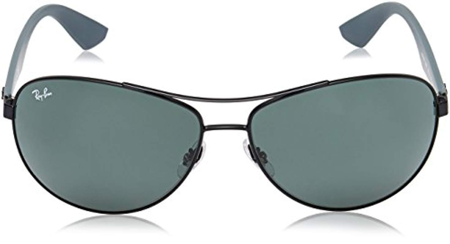 1bef166c8fa Ray-Ban - Black Sunglasses Rb3526 63 Mm for Men - Lyst. View fullscreen