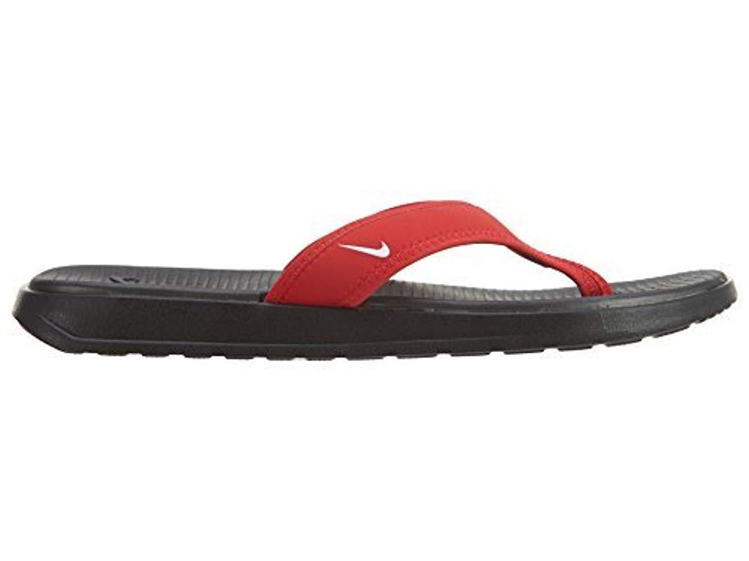 d00aa8c45686ba Nike - Red Solay Thong Sandal for Men - Lyst. View fullscreen