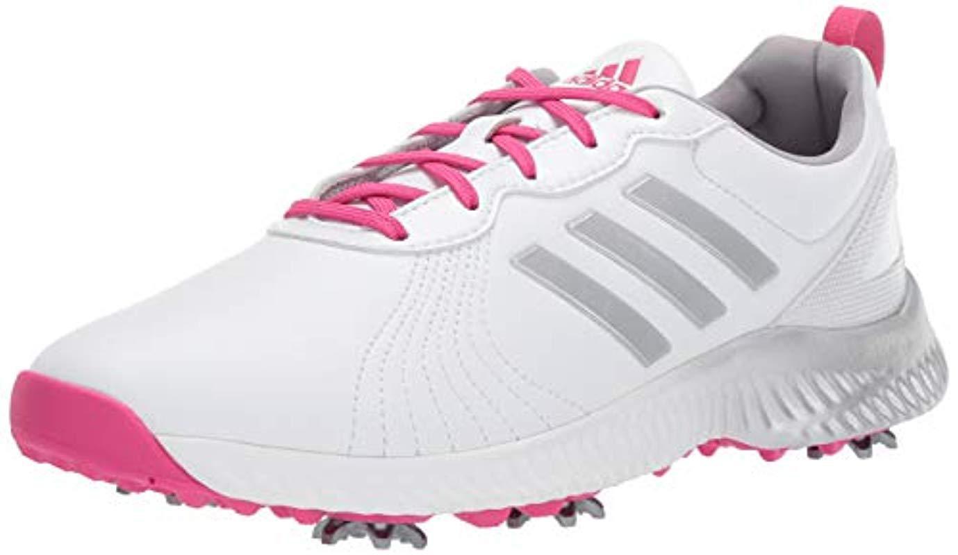 Lyst - Adidas W Response Bounce Golf Shoe in White 826c5b9583c
