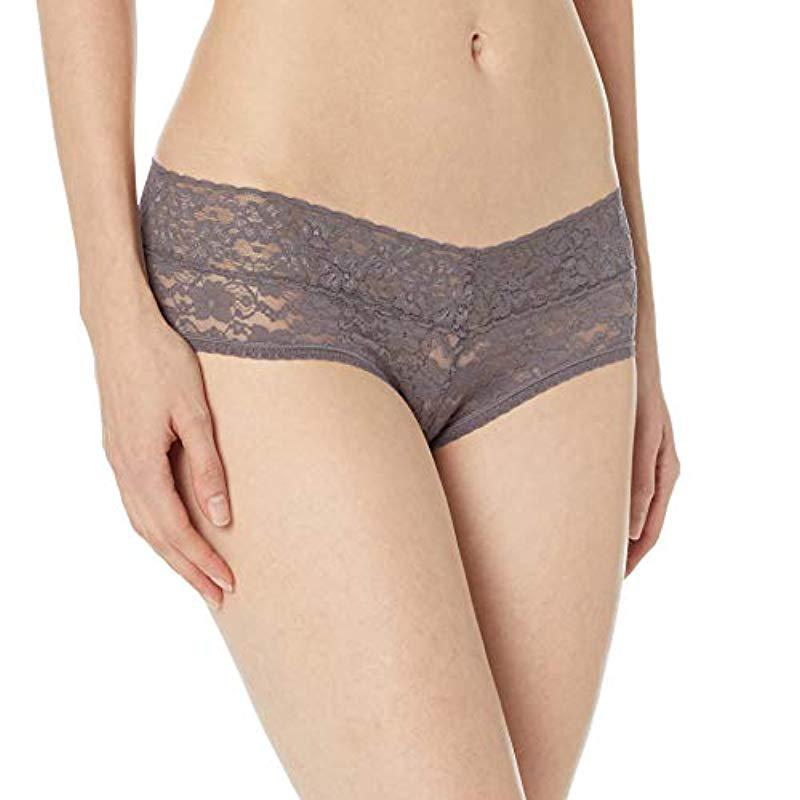 29eaae70c265d Mae Lace Cheeky Hipster Panty, 3 Pack in Black - Lyst