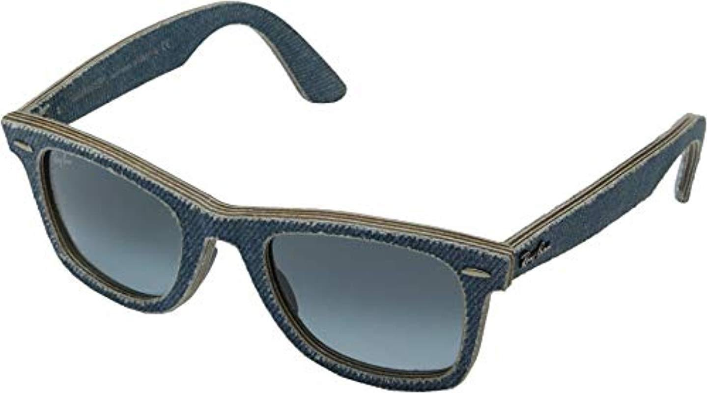 eb27f0e48af99 Lyst - Ray-Ban Unisex Rb2140 50mm in Blue for Men