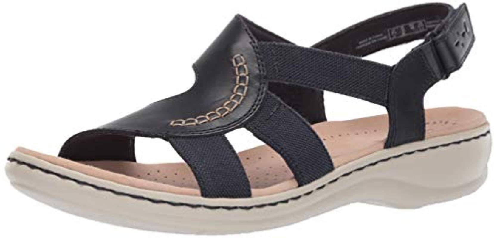 65439e7102b Lyst - Clarks Leisa Joy Sandal in Blue - Save 13%