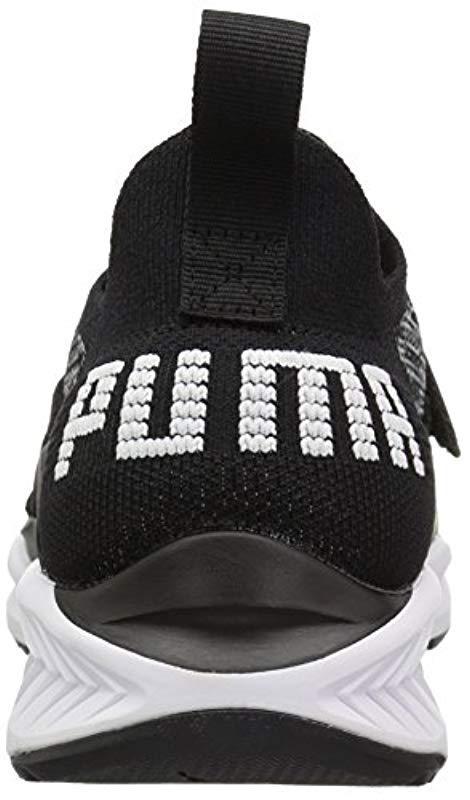 80a57b9671531a PUMA - Black Ignite Evoknit Lo 2 Wn Sneaker - Lyst. View fullscreen