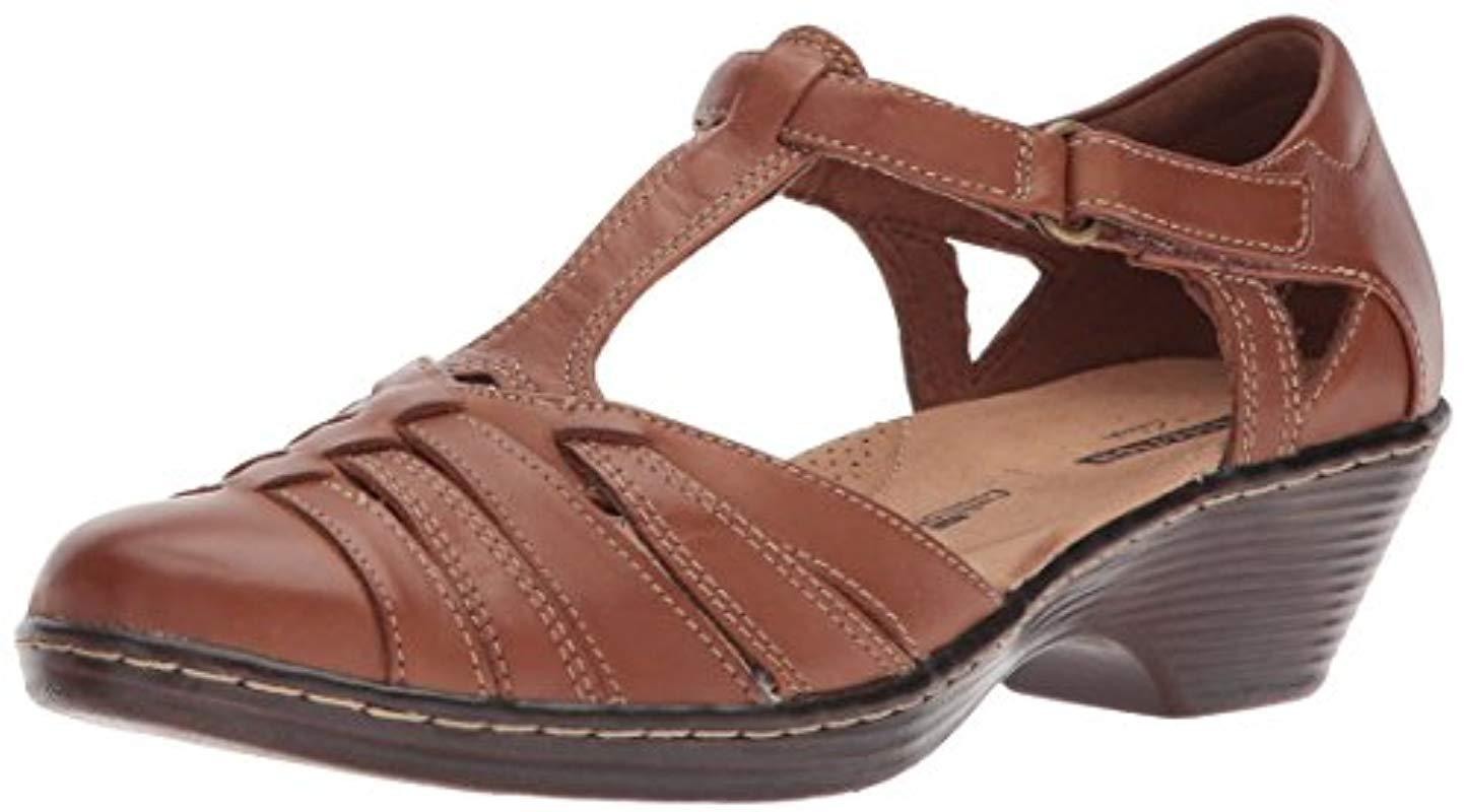 26cb995621f Lyst - Clarks Wendy Alto Fisherman Sandal in Brown - Save 55%
