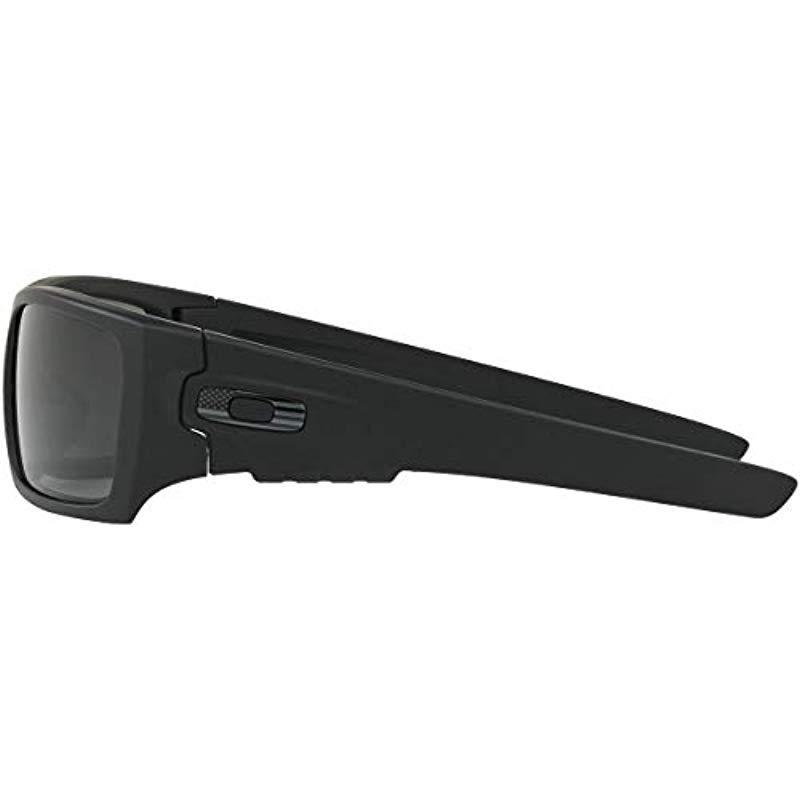 4b6b01e579 Oakley - Det Cord Sunglasses   Matte Black   Usa Flag (oo9253-11). View  fullscreen