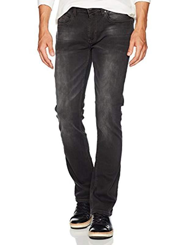 3a81e5fd Buffalo David Bitton. Men's Blue Max-x Skinny Fit Dark And Sanded Stretch Fashion  Denim Pant