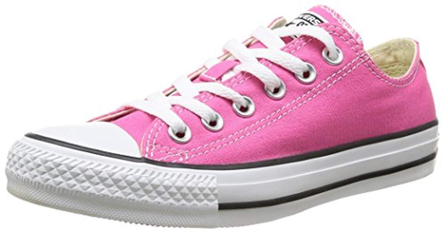 1923a2324ed5 Lyst - Converse Chuck Taylor All Star High Top in Pink
