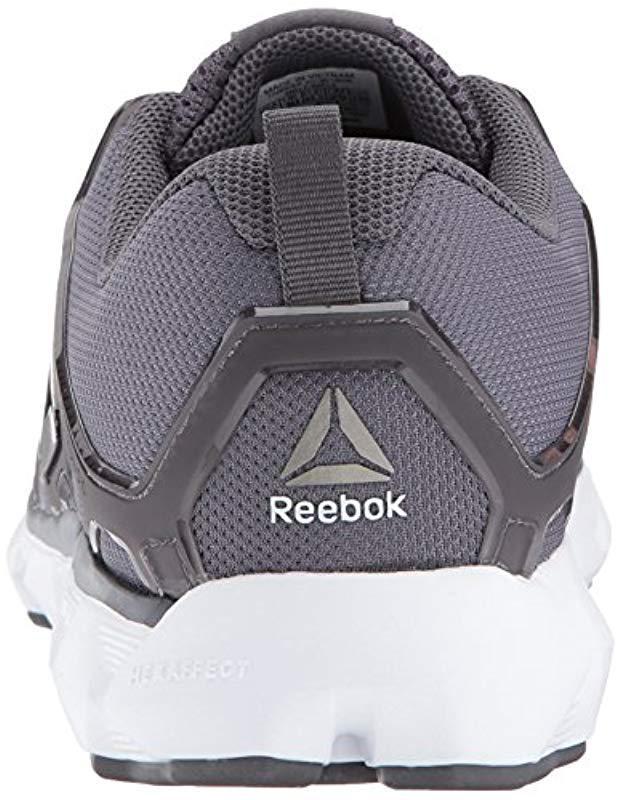 fa227fd7804 Lyst - Reebok Hexaffect 5.0 Mtm Running Shoe in Gray for Men